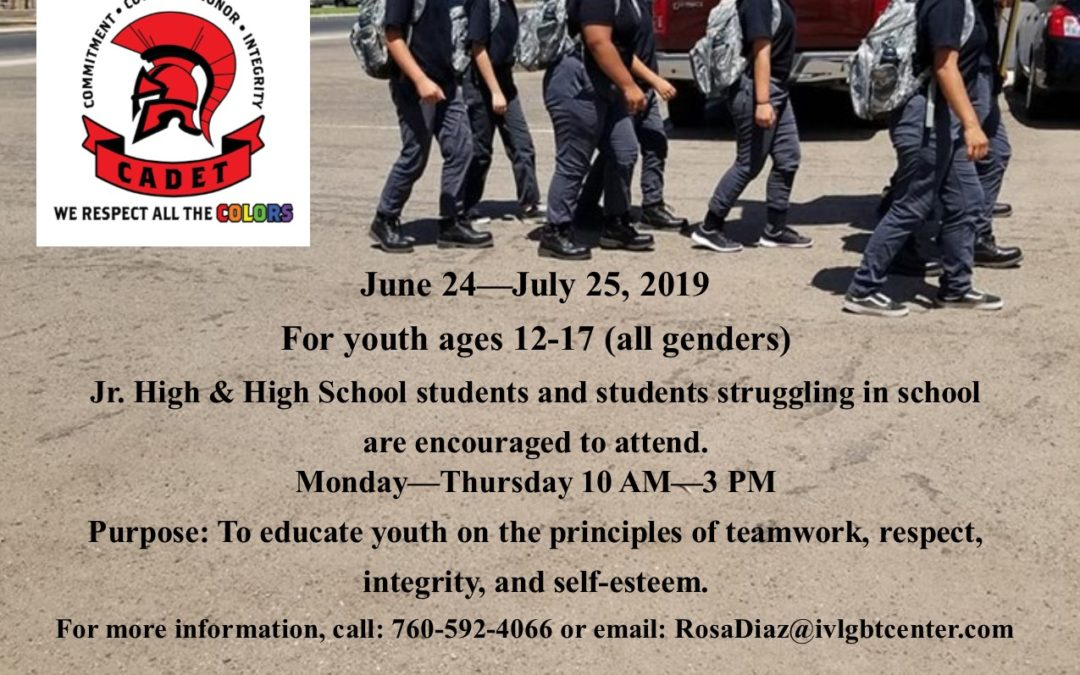 2019 Youth Cadet Academy & Color Guard